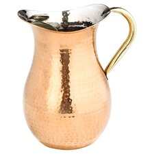 Décor Water Pitcher in Copper