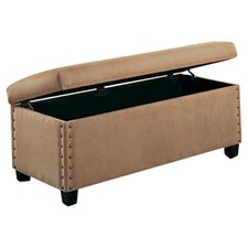 Brighton Bedroom Storage Bench in Tan
