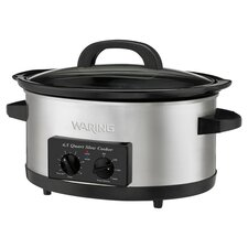 Professional Slow Cooker in Stainless Steel