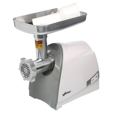 Heavy Duty Electric Meat Grinder in White