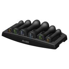 Ultimate 6 Piece Dumbbell Power Set in Black