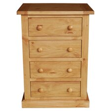 Devon 4 Drawer Chest in Pine