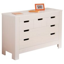 Balthasar 5 Drawer Chest in White