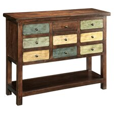 Courtland 9 Drawer Chest in Walnut