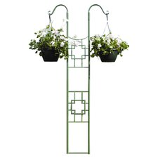 Cube Double Pole Trellis in Green