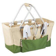 4 Piece Garden Tool Set in Tan