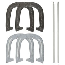 Advanced 6 Piece Horseshoe Game Set