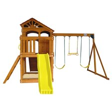 Timber Valley Play & Swing Set in Natural