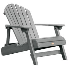 Highwood Reclining Adirondack Chair in Coastal Teak