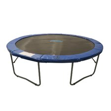 12' Round Trampoline in Blue