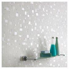 Contour Spa Pastel Tiles Foiled Wallpaper