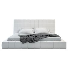 Thompson Platform Bed in White