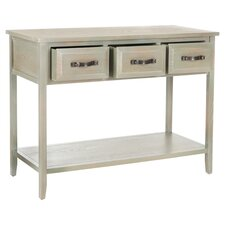 Alford Console Table in Antique Grey