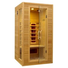 Masters 2 Person FAR Infrared Sauna in Natural