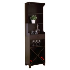 Reagon Wine Cabinet in Cappuccino