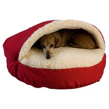 Snoozer Domino Pet Bed in Red