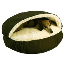 Snoozer Domino Pet Bed in Olive
