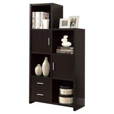 Leanne Bookcase in Cappuccino