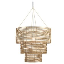 Vineyard Jute Chandelier in Natural