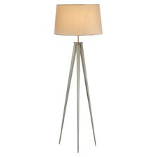 Producer Floor Lamp in Stainless Steel