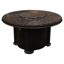 Grand Colonial Fire Pit in Dark Brown