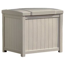 Rose Deck Storage Box in Light Taupe