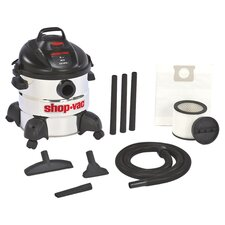 ShopVac Wet & Dry Vacuum in Black & White