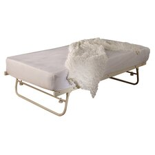 Sirus Single Folding Bed in Ivory