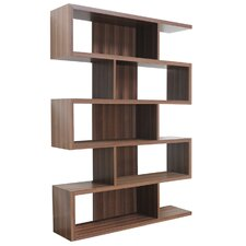 Marcel Bookcase in Matte Walnut