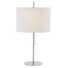 Milos Table Lamp in Brushed Steel