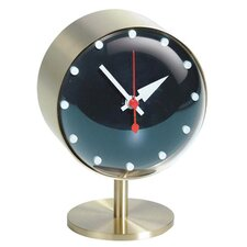 QUICK SHIP! Vitra G. Nelson Night Clock in Brass & Black