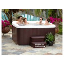 Paradise 7 Person Spa in Brown