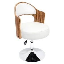 Cello Arm Chair in White