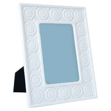 Charade Moulding Picture Frame in White