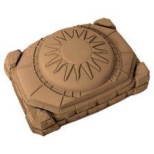 Naturally Playful Sandbox in Tan