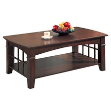 Brentwood Coffee Table in Dark Cherry