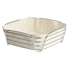 Delara Bread Basket in Chrome