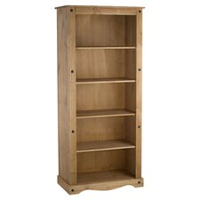 Corona Tall Bookcase I in Pine