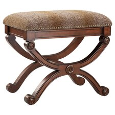 Allston Accent Stool in Brown