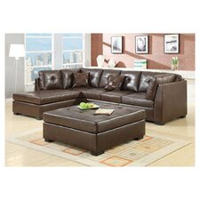 New Hope Sectional in Brown