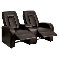 Fairfield Home Theater 2 Seat Recliner in Brown