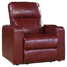 Larson Power Recliner in Red
