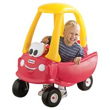 Cozy Coupe Push Car in Red & Yellow