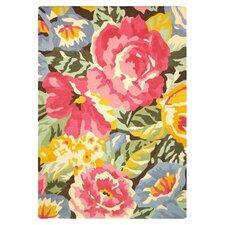 Fleur Green & Pink 183 cm x 123 cm Rug