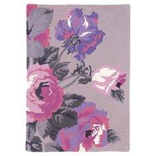 Mia Floral Purple 168 cm x 123 cm Rug