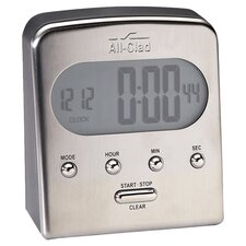 All-Clad Digital Timer in Stainless Steel