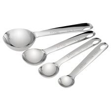 All-Clad Measuring Spoon Set in Stainless Steel