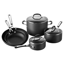 Calphalon 8 Piece Nonstick Cookware Set in Black