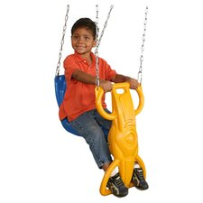 Hyde Wind Rider Glider Swing in Yellow