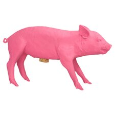 Harper Piggy Bank in Florescent Pink
